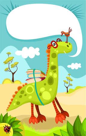 cute dinosaur: dino