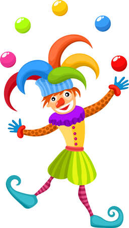 carnival costume: clown