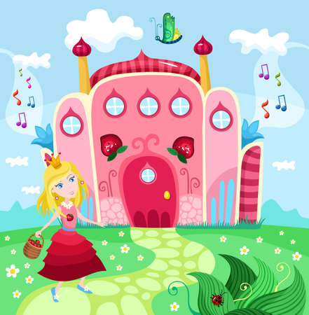 king palace: castle