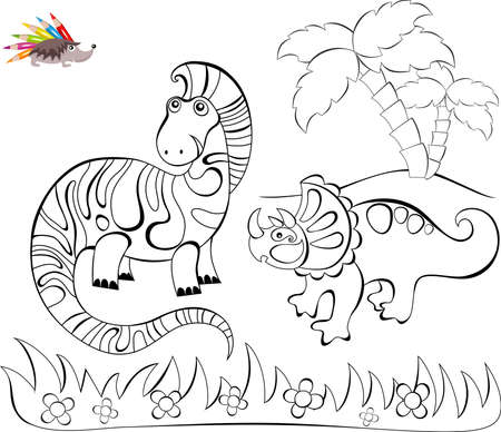 colouration: coloring Illustration