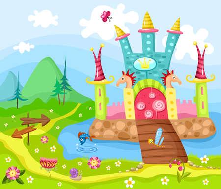 castello fiabesco: castello