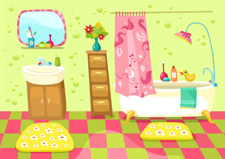 bathroom Illustration