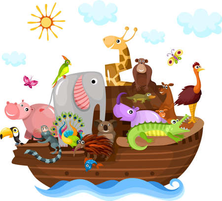 Noah s Ark Stock Vector - 14436098