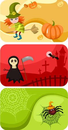 fruit bat: halloween cards