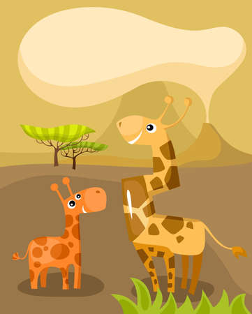 camelopardalis: african card