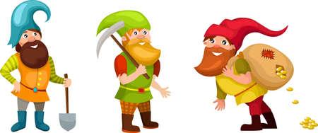 gnome: dwarf set