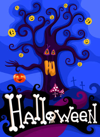 hallowen card set Vector