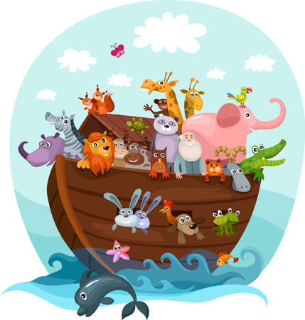 Noah s Ark Stock Vector - 15164870