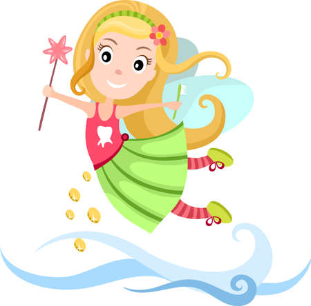 Tooth Fairy Stock Vector - 15736978