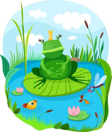 marshland: frog