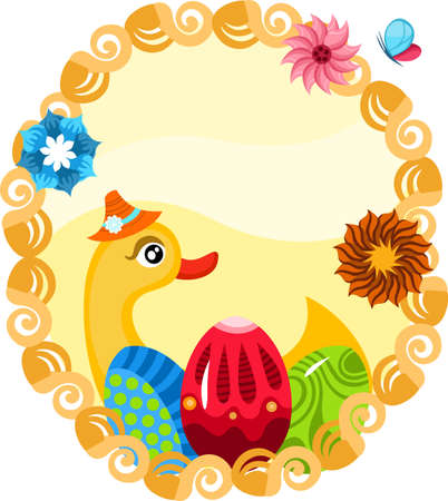 easter illustration Vector