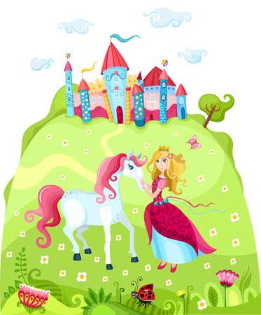 castillos de princesas: princesa