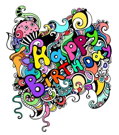 Happy Birthday-Karte