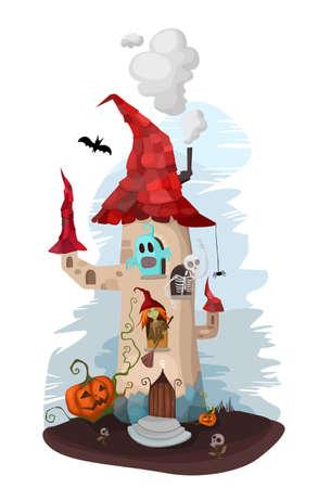 asked: halloween illustration Illustration