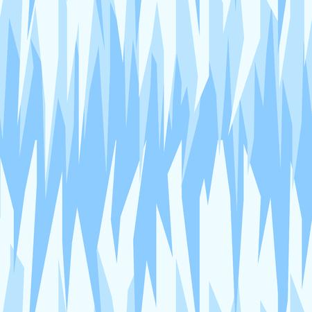 fiambres: vector patrón abstracto transparente, tema del invierno de hielo azul Vectores