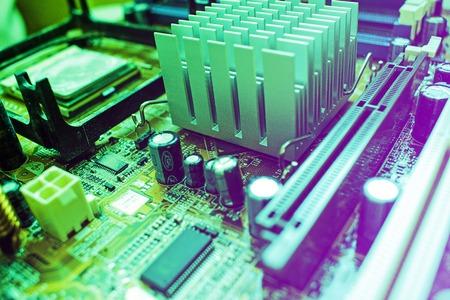 Electronic computer hardware technology. 版權商用圖片
