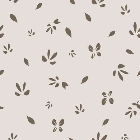 Cute Neutral Floral Background