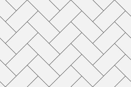 Elegantes und schlankes Fischgrät-Wiederholungsvektormuster. Ideal für Hintergründe, Papier, Textil. Vektorgrafik