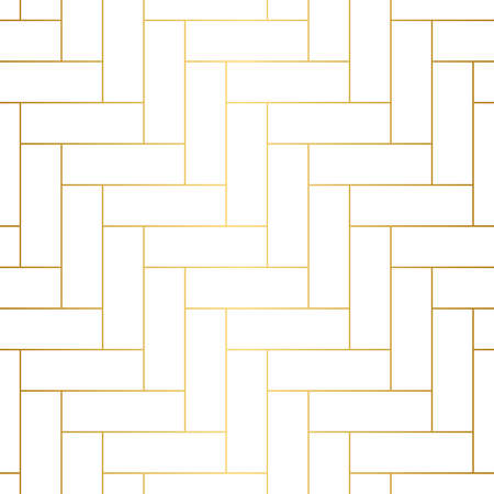 Elegant and sleek herringbone repeat vector pattern. Ideal for backgrounds, paper, textile. Stock Illustratie