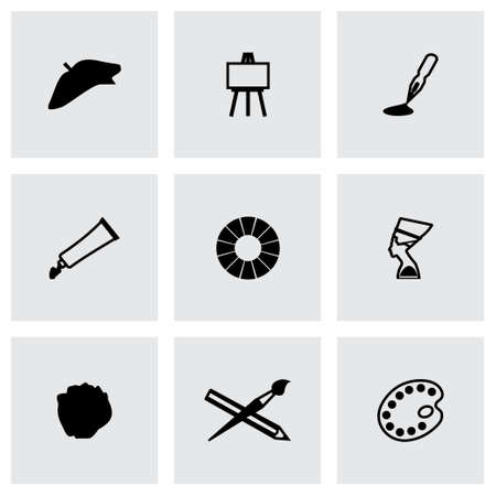 Vector Art icon set on grey background
