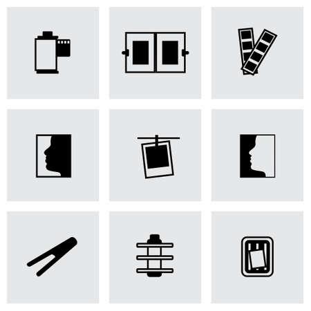 air cleaner: Icono de foto fija sobre fondo gris
