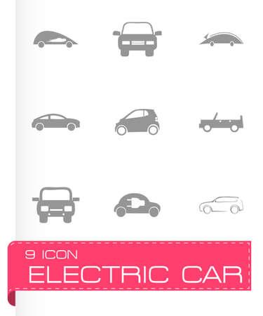 Grüne E-Auto-Symbol Mit Stecker Lizenzfrei Nutzbare Vektorgrafiken ...