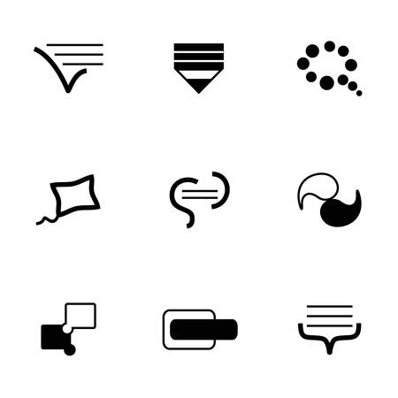 Vector Bulds icon set on white background