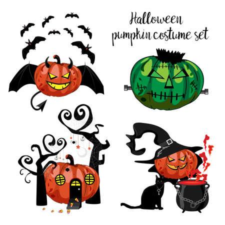 Halloween costumes design.