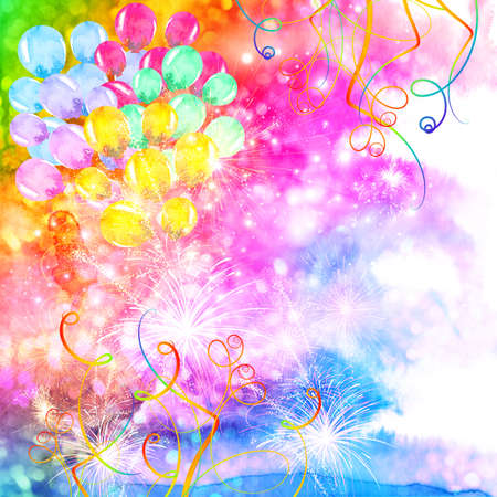 colorful abstract celebration background