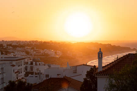 Sunrise in Albufeira in the Algarve
