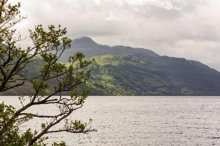 View on Loch Lomond in Scotland