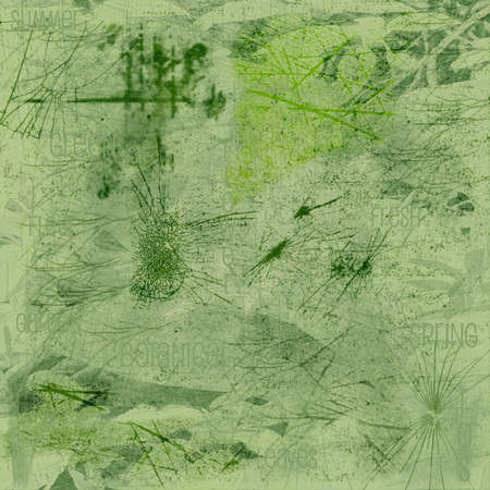 Abstract background in spring green.
