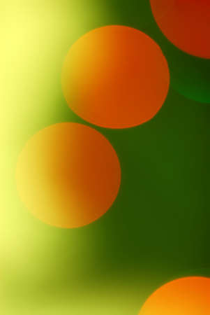 Green, Yellow and Orange Abstract Background