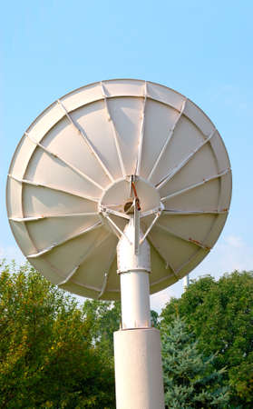 Dish Antenna - Satellite dish, the back side. Imagens - 545529