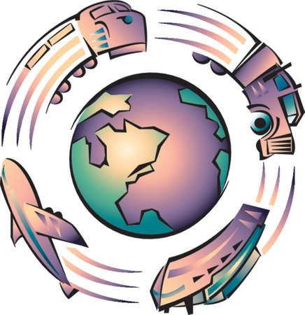 gaz: Transport pollution on Earth