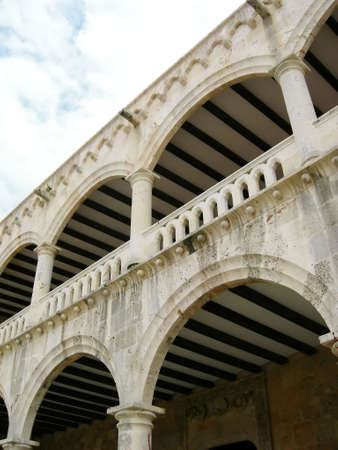 Historical building in Dominican Republic - home of Cristobal Colon (Christopher Colombus)