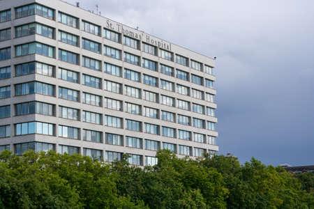 St Thomas Hospital in London, England, UK