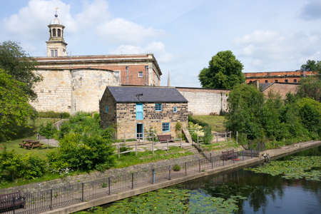 York Castle Museum and Raindale Mill, York, UK