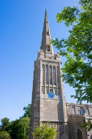 St Peter's Church in Oundle, Northamptonshire, England, UK