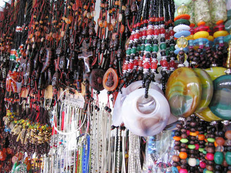 characteristics: Necklaces with the national characteristics