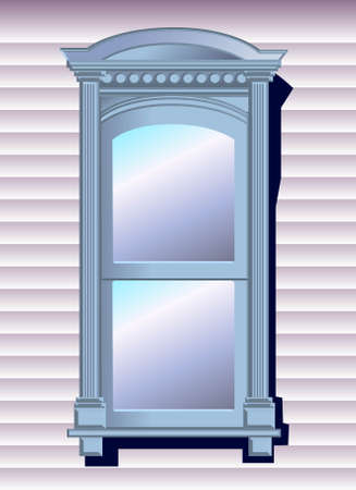 a vector illustration for a window Stock Vector - 2671495