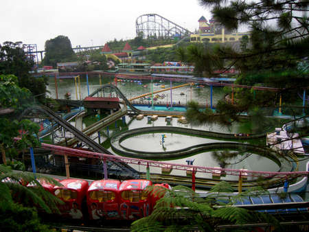 a view for outdoor theme park