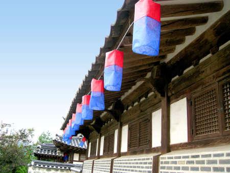 Old building at seoul, Korea Stock Photo