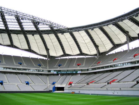 the world cup: World Cup Stadium Seoul Corea Archivio Fotografico