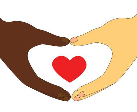 interracial couple: Interracial Couple love