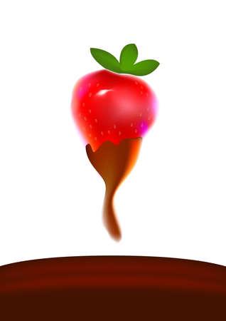 moisten: chocolate covered strawberry