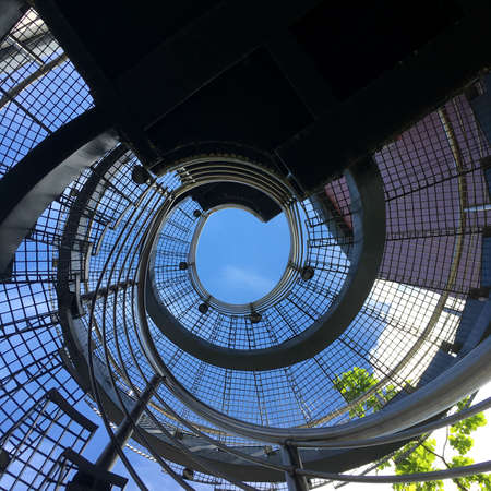 Spiral staircase 写真素材