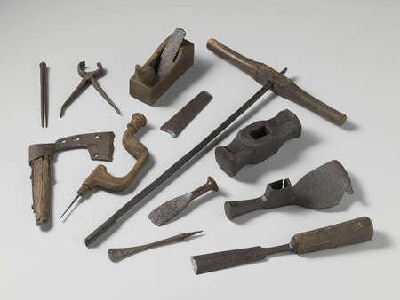 antique tools Banco de Imagens