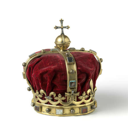 kings: Gold crown with jewel
