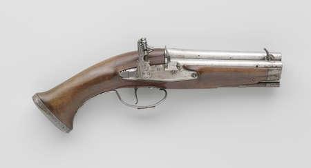 flint gun: antigua pistola